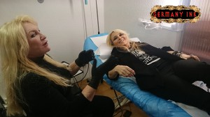 Doro Pesch und Eyreen Sue Germany Ink